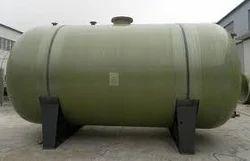 FRP Horizontal Storage Tank