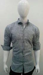 Men's Casual Plain Shirt