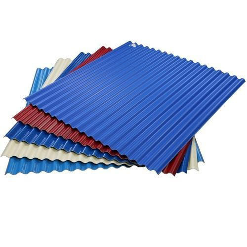 Corrugated Roofing Sheet At Rs 24 Square Feet Tata