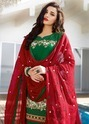 Cotton Patiala Suit With Embroidery