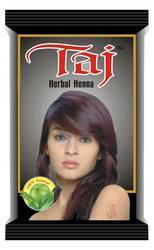 Taj black herbal henna, Pack Size: 10 Pack