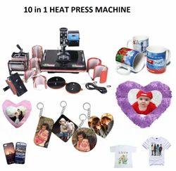10 In 1 Heat Press Machine - Ten In One Heat Press