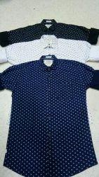 Mens Casual Printed Shirts