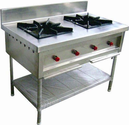 Commercial Gas Stove 2 Burner Commercial Gas Stove