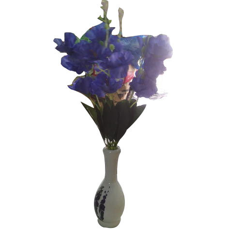 artificial purple flower pots at rs 25 /piece | flower pots | id