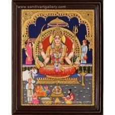 Tanjore Paintings Lalithambigai Amman at Rs 1250 /piece