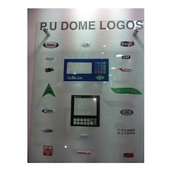 PU Coated Dome Labels
