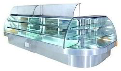 SS & Glass Sweet Display Counter