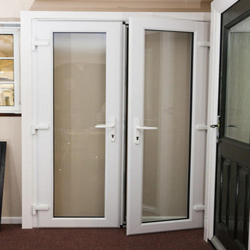 Designer UPVC Door & Designer Upvc Door at Rs 400 /square feet | Unplasticized Polyvinyl ...