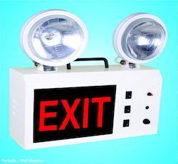 Multi Beam LED Exit Light