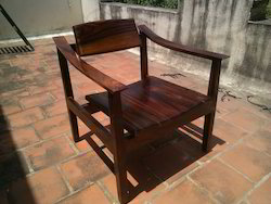 Black Kvc Indonesia Terrace Chair, Size: 1 Str, Back Rest Adjustable: No