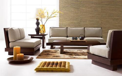 bàn trà sofa đơn giản
