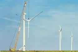 Wind Mill Erection