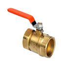 Brass Flanged Ball Valve