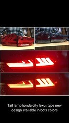 Led GLASS Tail Lamp Honda City