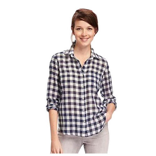 a3466d298 Ladies Full Sleeve Check Shirt, Size: S-XL, Rs 421 /piece | ID ...