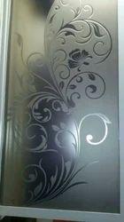 Flower Decor Glass