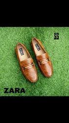 Leather Branded Loafer Shoe
