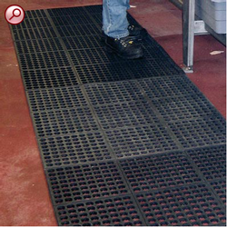 Restaurant Mat (Anti Skid Mat) O Hotel Mat (Linking Type)