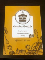 Mills & Brown Eggless Chocolate Flavour Cake Mix, Packaging Type: Box