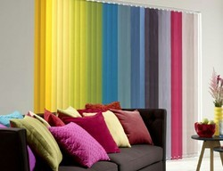Fabric Window Verticle Blinds