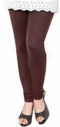 Brown Cotton Leggings