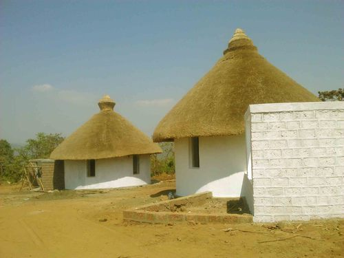 Thatched House In India Thatched Roof House Oem