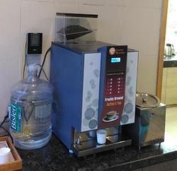 Fresh Milk Tea Coffee Vending Machine Live Tea Vending