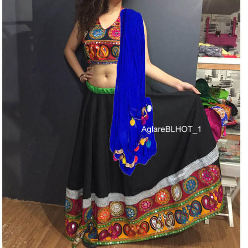 e1010f937be2b8 Kutch Embroidered Ghagra Choli at Rs 1200 /piece | Bodakdev ...