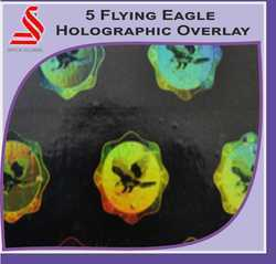 5 Flying Eagle Holographic Overlay