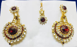Indian Polki Earrings