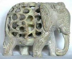 Green White Indian Stone Handicrafts