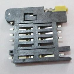 Push Type 8pin Sim Card Holder In Plastic Body