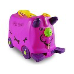 Kids Mini Trunk Ride And Roll Suitcase