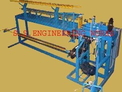 Single Automatic Chain Link Fencing Machine