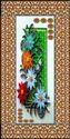 Floral Design Door Skin Paper