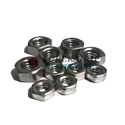 Hexagonal Stainless Steel Hex Nut, Size: 2 mm to 8 mm