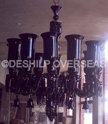 Decorative Black Opal Chandelier