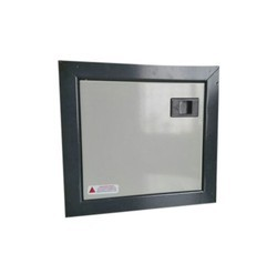 Galvanized Iron (GI) MCB Box Double Door, For Electric Fittings