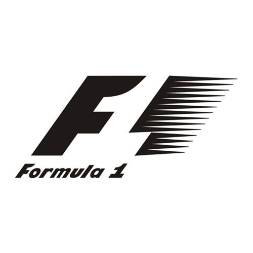 Formula 1 sticker for cars and bikes