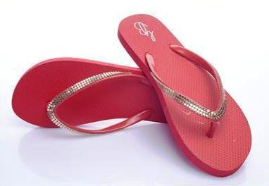 1e367b7bd Womens Waterproof Colorful Sandals (Marmalade Cherry) at Rs 180 ...