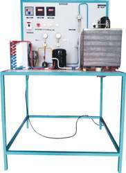 Vapour Compression Refrigeration System Test Rig