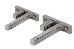 Stainless Steel F Bracket For Glass Shelves