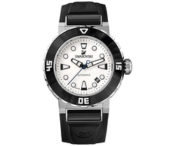 Octea Abyssal Stainess Steel Rubber Strap Automatic Watch
