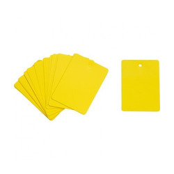 Plastic Card Tag