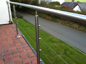 SS Balustrade Rope Railing