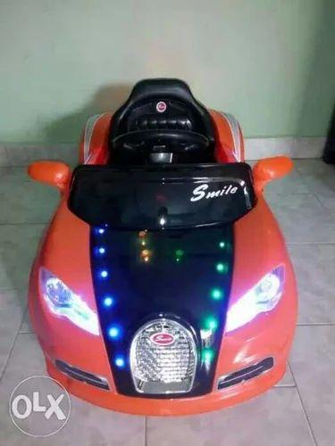 orange toy bugatti model kids car, rs 9499 /piece, saisree kid's