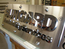 Mirror Finished Stainless Steel  Letters