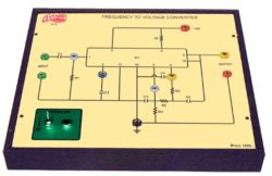 Frequency To Voltage Converter ( F / V ) Trainer