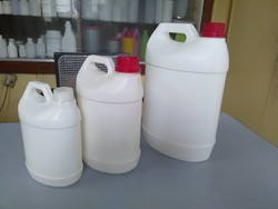 HDPE White Chemical Containers, Capacity: 1-10 Ton And 10-20 Ton